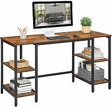 VASAGLE Computer Desk, 137 cm Writing Desk with