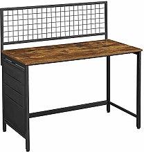 VASAGLE Computer Desk, Writing Study Desk with