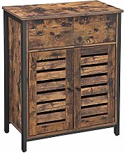 VASAGLE Floor Cabinet, Free standing Cabinet with