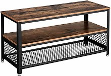 VASAGLE Industrial TV Cabinet for TVs up to 43