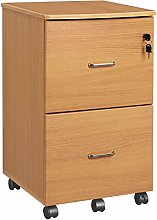 VASAGLE Mobile File Cabinet with Lock and Drawers,