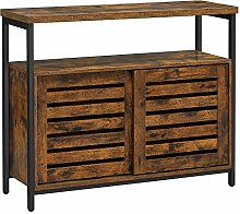 VASAGLE Sideboard, Floor Cabinet with Sliding