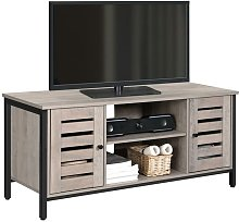 VASAGLE TV Stand, TV Console Unit with Shelves,
