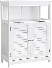 VASAGLE Wooden Bathroom Floor Cabinet Storage