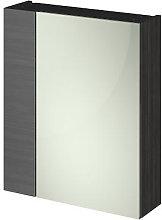 Vasari Apex Hacienda Black Single Door Mirror