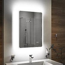 Vasari LED Bathroom Mirror with Demister Pad and