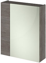 Vasari Vista Brown Grey Avola Single Door Mirror