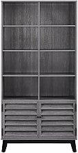 Vaughn Sonoma Oak Mid Century Modern Bookcase