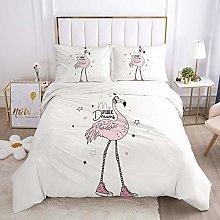 VAWAA Bedding Duvet Covers Girls Princess Cartoon