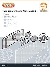 Vax Genuine Canister Range Maintenance Kit by Vax