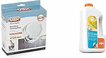 Vax Microfibre Cleaning Pads x 3, White &  Steam