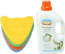 VAX Steam Cleaner Lime Zest Detergent and Total