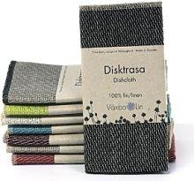 Vaxbo Lin - Black Linen Dish Cloth - Black