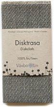 Vaxbo Lin - Graphite Gray Linen Tea Towel -