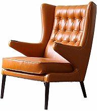 VBARV Leather Comfortable armchair classic