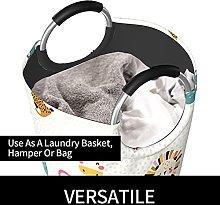 VBTDEGAB Cute animals faces Laundry