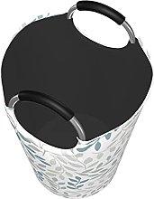 VBTDEGAB Same leaves Laundry Basket,Waterproof