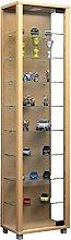VCM Cabinet Edana Maxi with LED, Beech, 115x33x18
