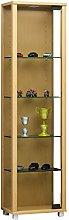 VCM Cabinet Edana Mini with LED, Beech, 115x33x18