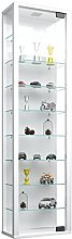 VCM Cabinet Stano Maxi with LED, White, 115x33x18