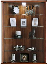 VCM Corner Display Cabinet Vecko with Feet,Core