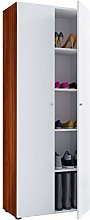 VCM Shoes Cabinet Vandol I with Doors and 5