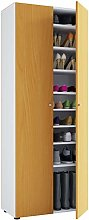 VCM Shoes Cabinet Vandol I with Doors and 9