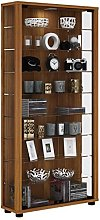 VCM Stand Cabinet Lumo Maxi core Walnut/with LED