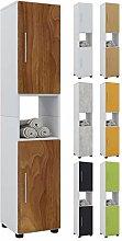 VCM Tall Cabinet Hebola,Core Walnut, Wood