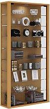 VCM Wall Cabinet Vitrosa Maxi Beech/with LED