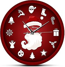 Vcnhln Merry Christmas Clause Home Decor Wall