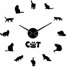 VCS American Shorthair Cat Modern DIY Wall Clock