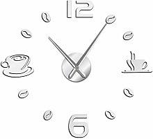 VCS Cafe DIY Large Wall Clock Frameless Giant Wall