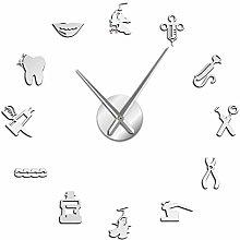 VCS Dentist DIY Giant Wall Clock Dental Doctor