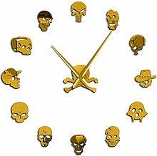 VCS Different Skull Heads DIY Horror Wall Art