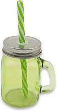 Vedmantra® Mason Jar Shot Glass with Handle &