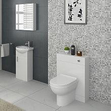 VeeBath Linx Vanity Basin Cabinet & Back To Wall