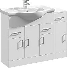VeeBath Linx Vanity Basin Unit Storage Cabinet