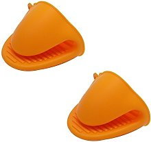 Veewon Silicone Pot Holder Oven Mini Mitt Cooking