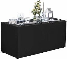 VEEYOO 6 Feet Table Cover - 183 X 76 X 76cm -