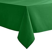VEEYOO Green Tablecloth Poly Cotton Table cloth