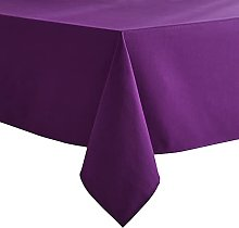VEEYOO Purple Tablecloth Poly Cotton Table cloth
