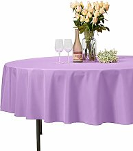 VEEYOO Round Tablecloth 100% Polyester - 178 cm