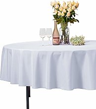 VEEYOO Round Tablecloth 100% Polyester - 229 cm