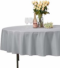 VEEYOO Round Tablecloth 100% Polyester - 274 cm