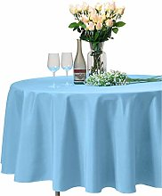 VEEYOO Round Tablecloth 100% Polyester - 305 cm