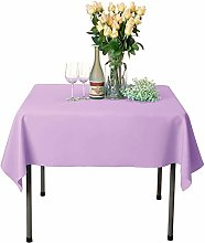 VEEYOO Square Tablecloth 100% Polyester Table
