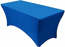 VEEYOO Tablecloth - 4 ft Stretch Fitted Table