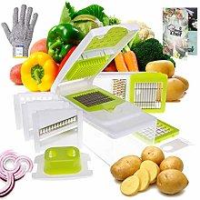 Vege Chef Mandolin Slicer and Food Processor 13 in