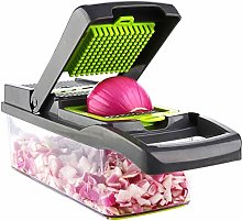 Vegetable Chopper, Multiple Slicer, with Container